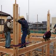 タケワキは木組みの家も作れる