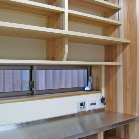造付け家具 ~食器棚~