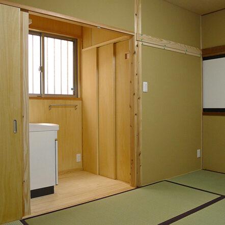 寝室にトイレを ~高齢者住宅~
