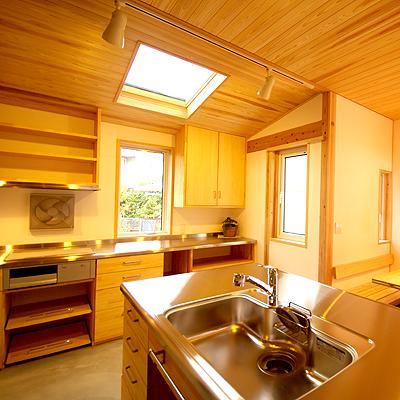 土間キッチンのある家