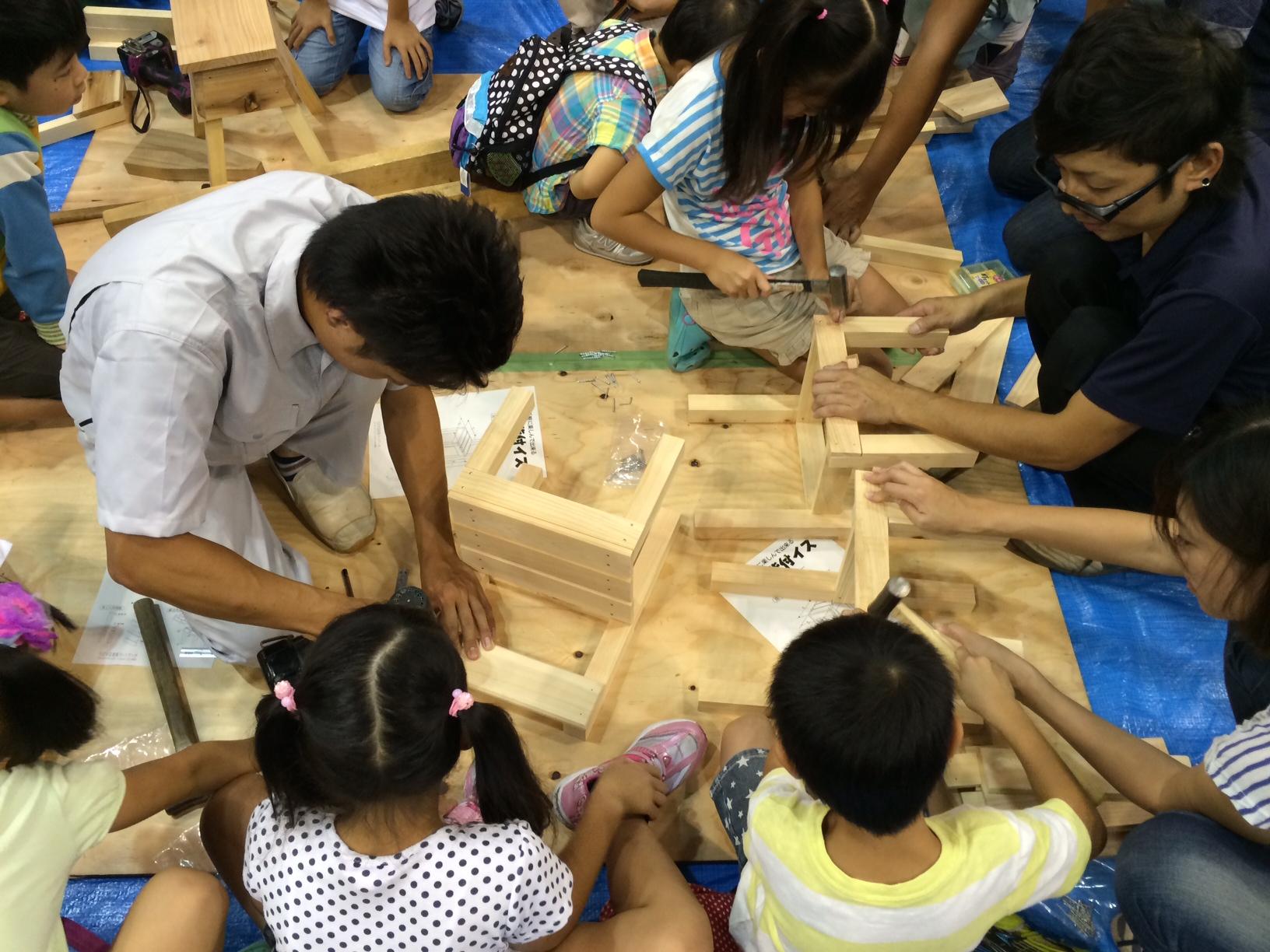 住まいる祭り~木工教室~