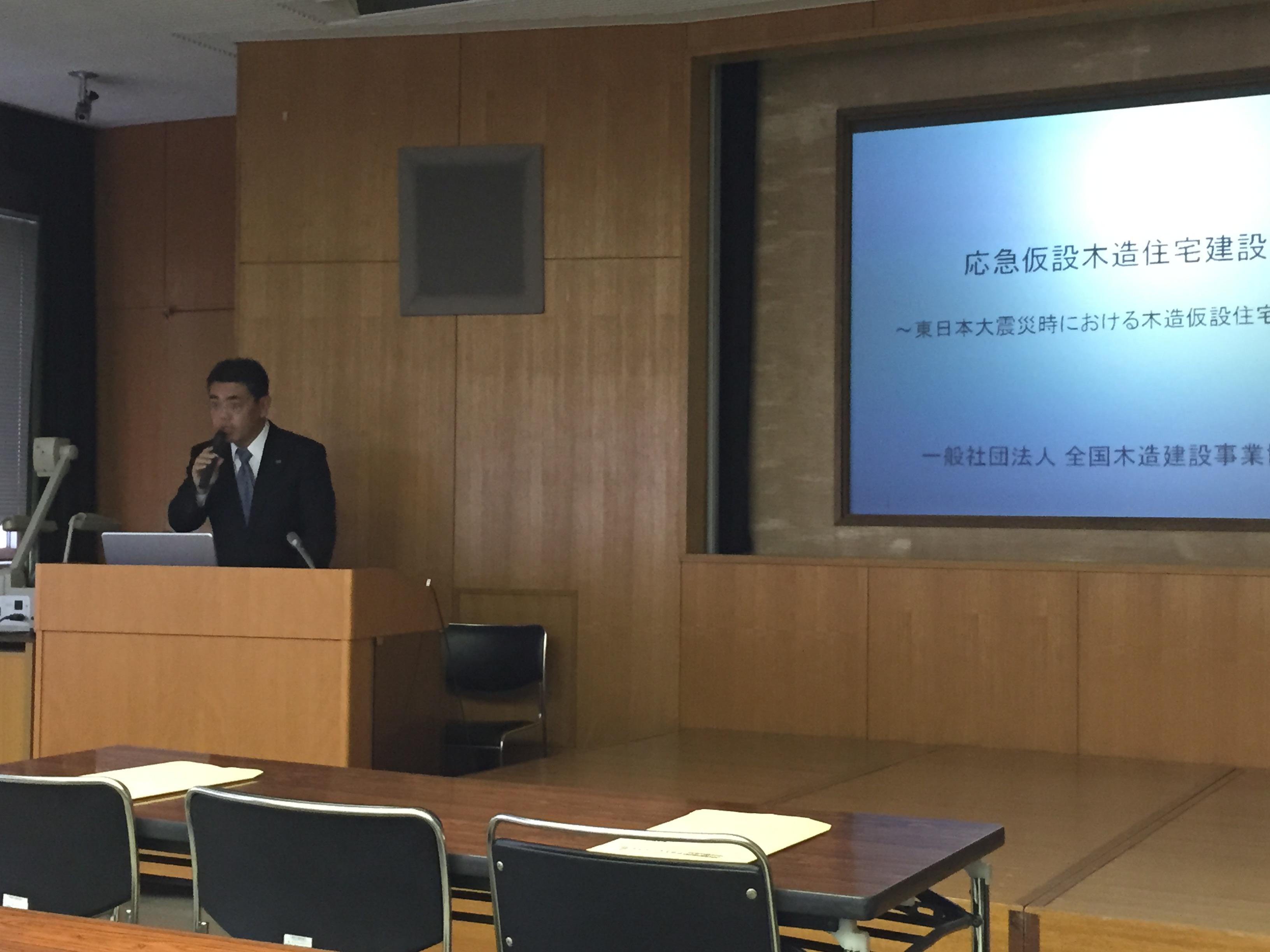 千葉県応急仮設住宅供給訓練
