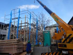 木組み 建て方