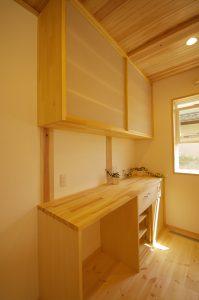 やす楽木はうす 食器棚