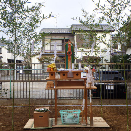『精霊の家』地鎮祭