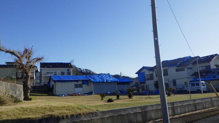 昨年の千葉県台風による被害について